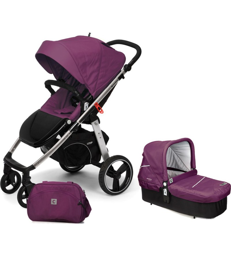 COCHE DUO LOOP MATCH 2 CAPAZO COT CASUALPLAY