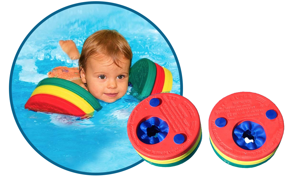 Manguitos Delphin Swim Discs - Vacaciones en familia